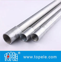 Electrical Galvanized Steel BS4568 Conduit GI Tube With Threaded Coupler, 10 Feet