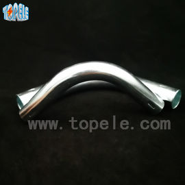 OEM Galvanized Compression Emt Conduit Elbow , Electrical Conduit Elbow